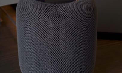 HomePod altavoz inteligente de Apple.